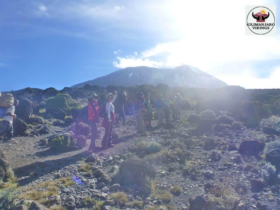 キリマンジャロ登山の人気ルート