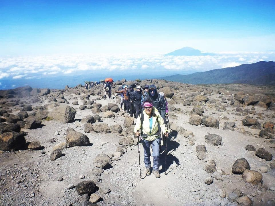 A trip to Mount Kilimanjaro