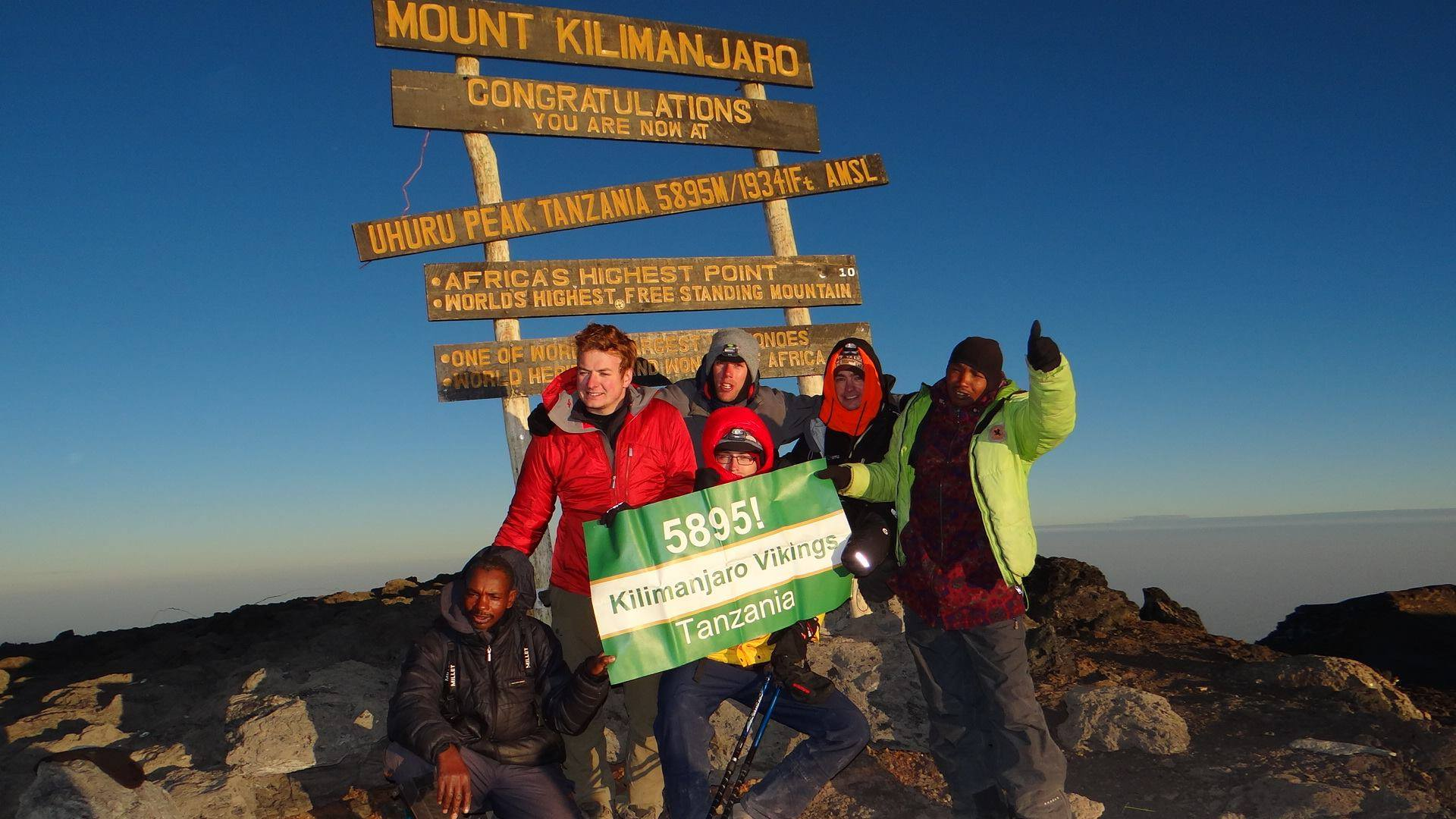Get in touch with the team at Kilimanjaro Vikings