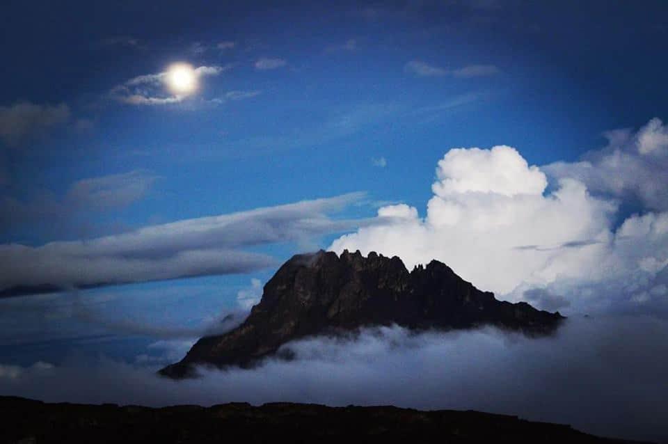 Climbing to Mount Kilimanjaro