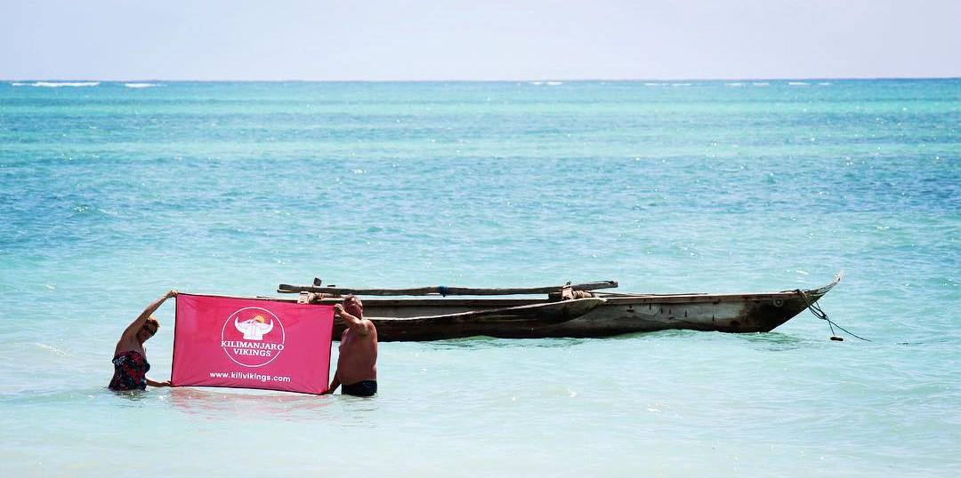 Visiting beaches of Zanzibar
